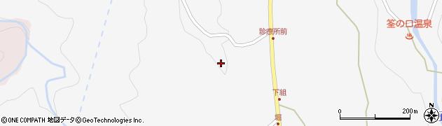 大分県玖珠郡九重町田野735周辺の地図