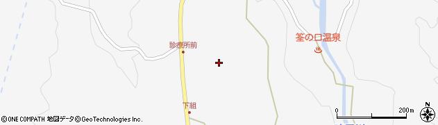 大分県玖珠郡九重町田野1386周辺の地図