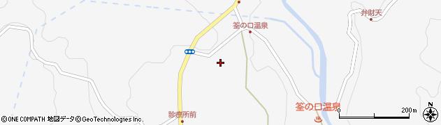 大分県玖珠郡九重町田野1369周辺の地図