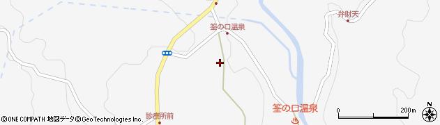 大分県玖珠郡九重町田野1380周辺の地図
