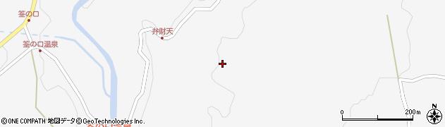 大分県玖珠郡九重町田野1822周辺の地図