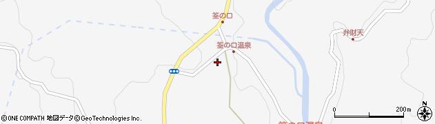 大分県玖珠郡九重町田野1408周辺の地図