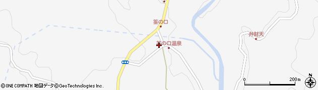 大分県玖珠郡九重町田野1244周辺の地図