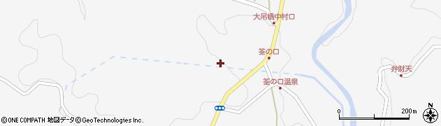 大分県玖珠郡九重町田野1256周辺の地図
