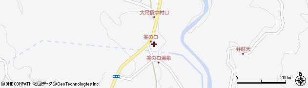 大分県玖珠郡九重町田野1241周辺の地図