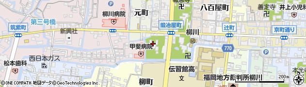天叟寺周辺の地図