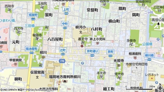 〒832-0025 福岡県柳川市恵美須町の地図