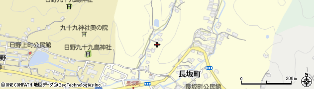 長崎県佐世保市長坂町周辺の地図