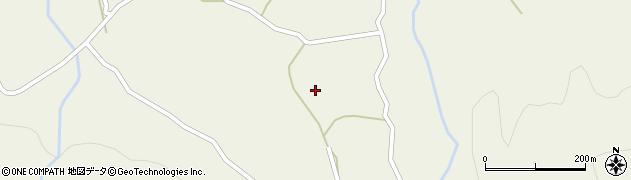 大分県玖珠郡九重町菅原121周辺の地図