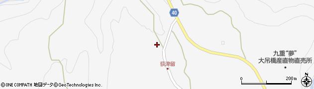 大分県玖珠郡九重町田野1080周辺の地図
