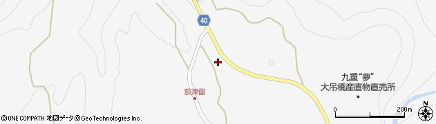 大分県玖珠郡九重町田野1024周辺の地図