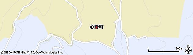 長崎県佐世保市心野町周辺の地図