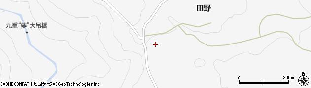 大分県玖珠郡九重町田野1974周辺の地図
