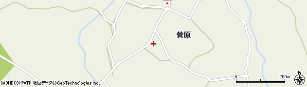 大分県玖珠郡九重町菅原469周辺の地図