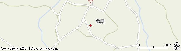 大分県玖珠郡九重町菅原413周辺の地図
