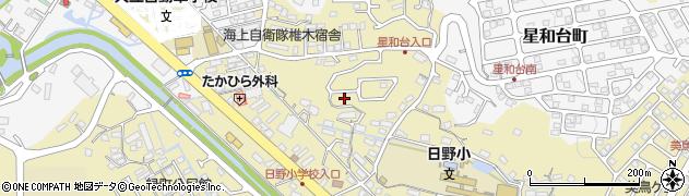 長崎県佐世保市日野町周辺の地図