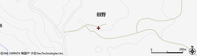 大分県玖珠郡九重町田野2094周辺の地図