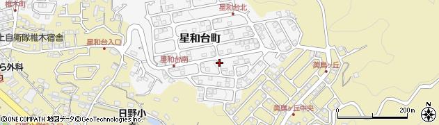 長崎県佐世保市星和台町周辺の地図