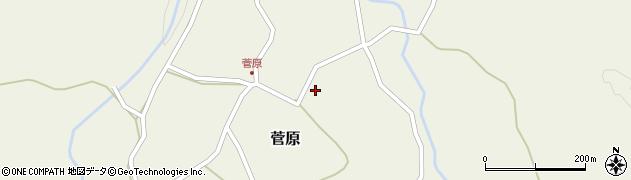 大分県玖珠郡九重町菅原159周辺の地図