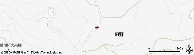 大分県玖珠郡九重町田野2021周辺の地図