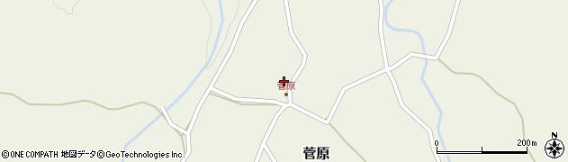 大分県玖珠郡九重町菅原382周辺の地図