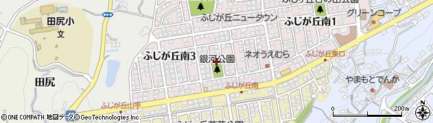 大分県大分市岡川(ふじが丘南区)周辺の地図