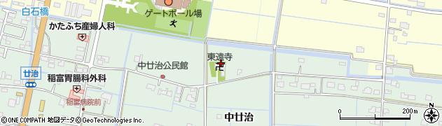 東遠寺周辺の地図