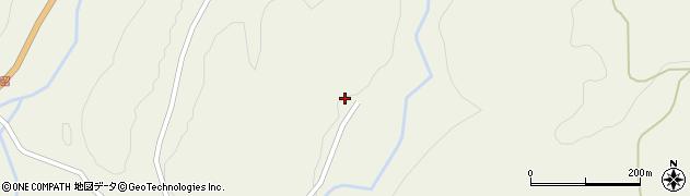 大分県玖珠郡九重町菅原301周辺の地図