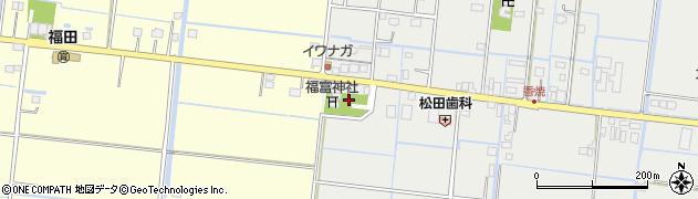 福富神社周辺の地図