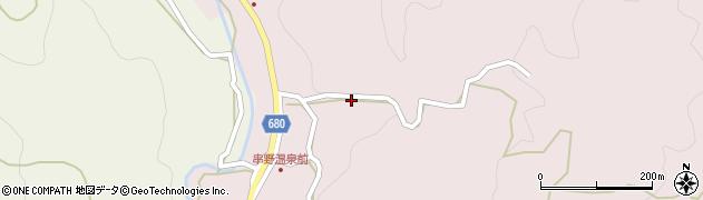 大分県玖珠郡九重町町田2720周辺の地図