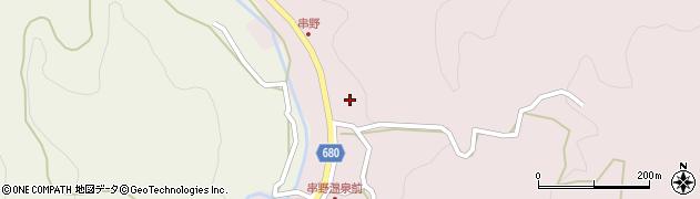 大分県玖珠郡九重町町田2684周辺の地図