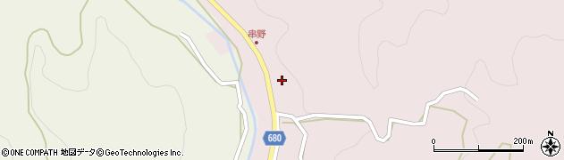 大分県玖珠郡九重町町田2685周辺の地図