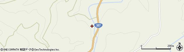 大分県玖珠郡九重町菅原1453周辺の地図