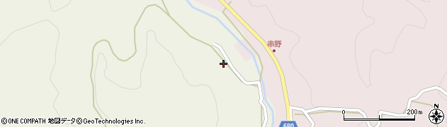 大分県玖珠郡九重町菅原1189周辺の地図