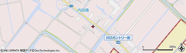 江頭商店周辺の地図