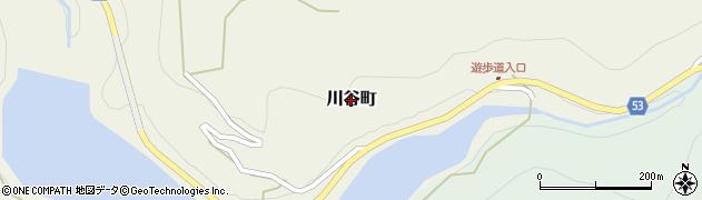 長崎県佐世保市川谷町周辺の地図