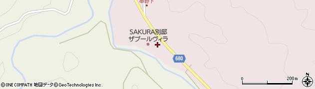 大分県玖珠郡九重町町田2778周辺の地図