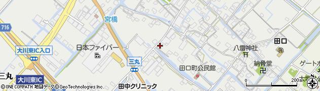 有限会社三丸家具工芸 民芸館周辺の地図