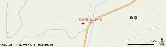 大分県玖珠郡九重町菅原1536周辺の地図