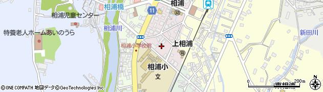 長崎県佐世保市上相浦町周辺の地図