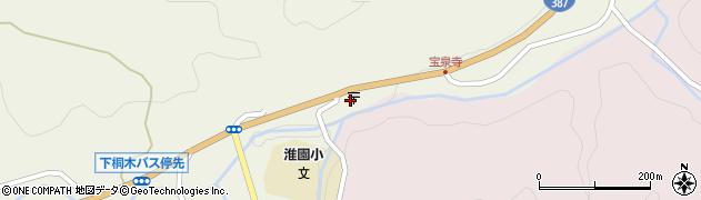 大分県玖珠郡九重町菅原1855-10周辺の地図