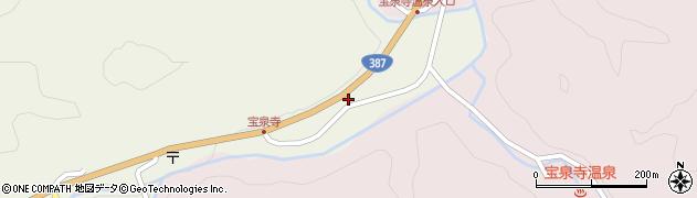 大分県玖珠郡九重町菅原1862周辺の地図