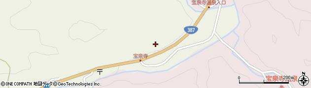 大分県玖珠郡九重町菅原1882周辺の地図