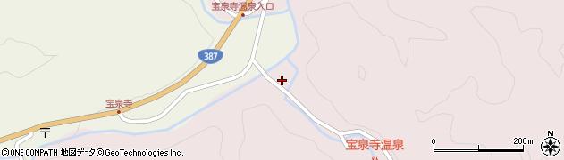 大分県玖珠郡九重町町田2425周辺の地図