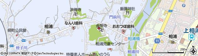 金照寺周辺の地図