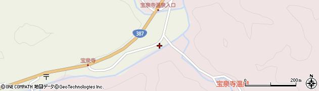 大分県玖珠郡九重町菅原1865周辺の地図