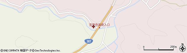 大分県玖珠郡九重町菅原2540周辺の地図