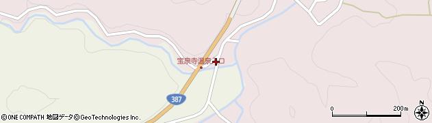 大分県玖珠郡九重町町田8周辺の地図