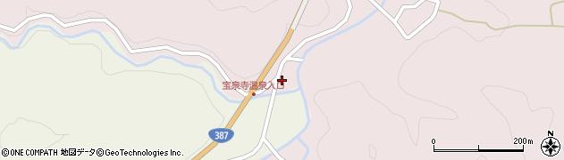 大分県玖珠郡九重町町田4周辺の地図