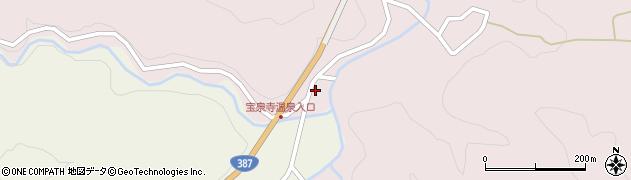 大分県玖珠郡九重町町田6周辺の地図
